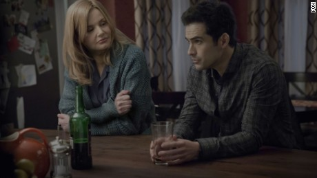 "Geena Davis and Alfonso Herrera star in ""The Exorcist"""