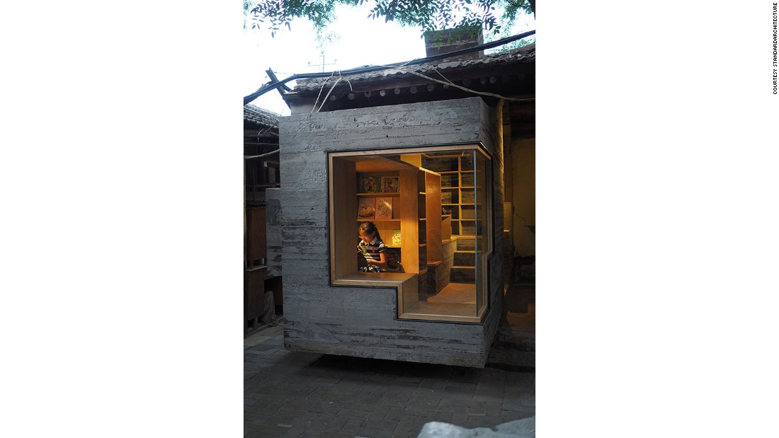 The studio conceived the Micro Yuan'er -- a room that can be added on to existing structures -- and a small, stand-alone Micro Hutong, which are inspired by the buildings in traditional hutong courtyards.