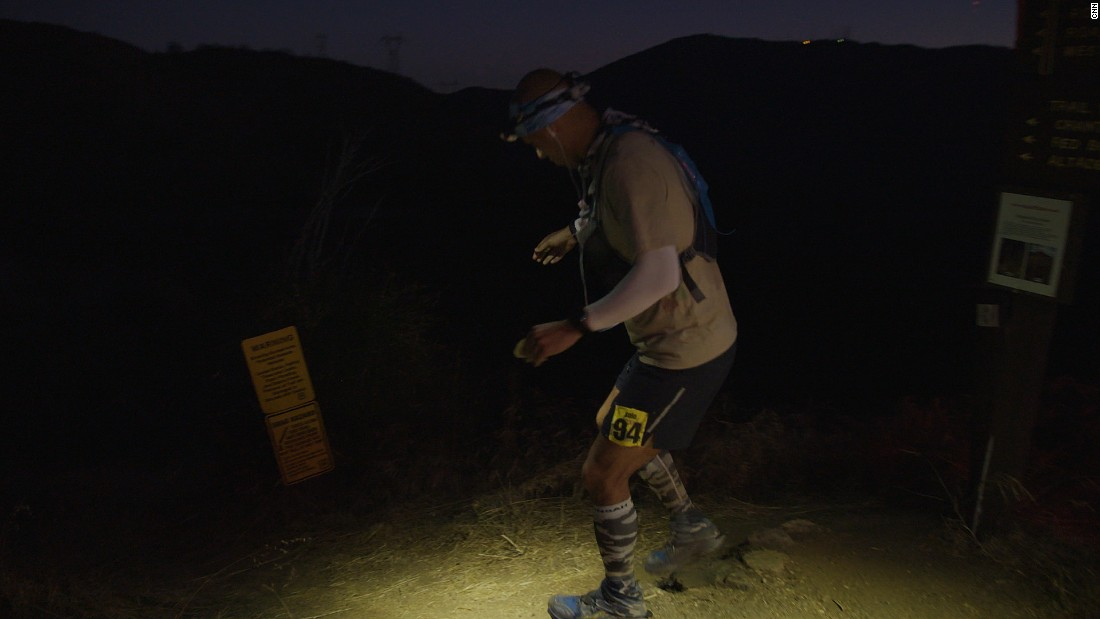 Most of the participants will run all night long, a headlamp lighting their way.