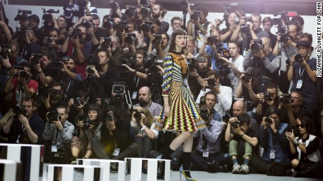 Secrets of the fashion week pit: Photographing the other side of the runway