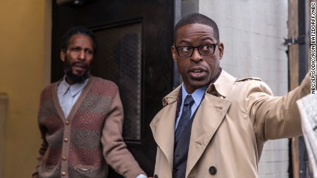 Pictured: (l-r) Ron Cephas Jones as William, Sterling K. Brown as Randall (Photo by: Ron Batzdorff/NBC)