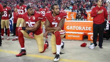 Kaepernick: 'Let's make America great again, for the first time'