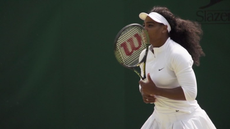 Coach of tennis star Serena Williams discusses record_00014922