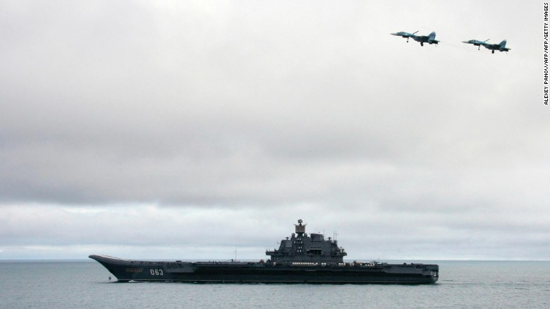 Russia will deploy aircraft carrier to coast of Syria