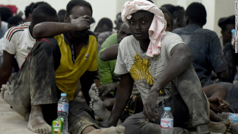 Migrant boat capsizes near Egypt