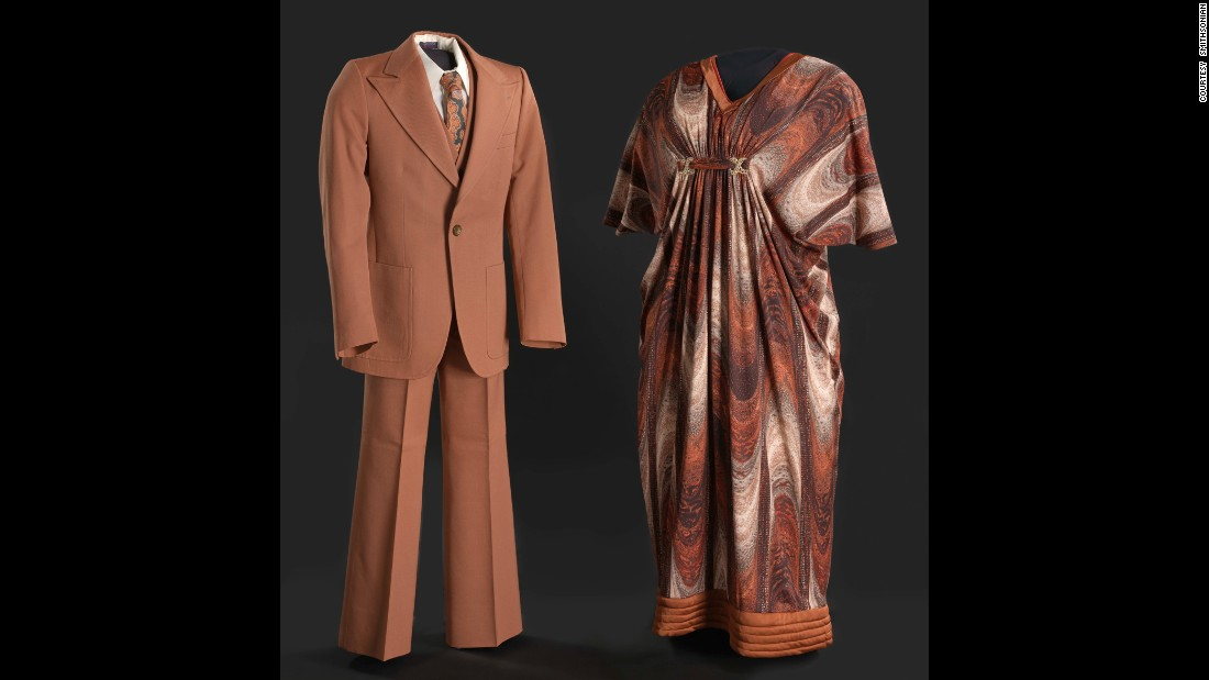 "Actor Sherman Hemsley and actress Isabel Sanford wore these clothes when they played married couple George and Louise Jefferson on the breakthrough television series ""The Jeffersons,"" which ran from 1975-85."