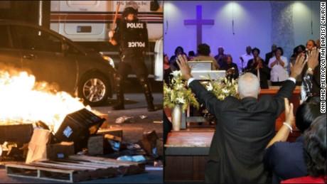 Tulsa prayed, Charlotte erupted