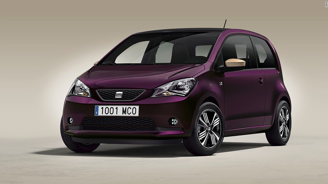 "Named the SEAT Mii, the partners have promoted the vehicle as a car for women. ""With its exclusive design and thoughtful feminine touches, like the mirrors in the sun visors or the handbag hook, the car adapts to every need and personality. Including yours,"" SEAT says."