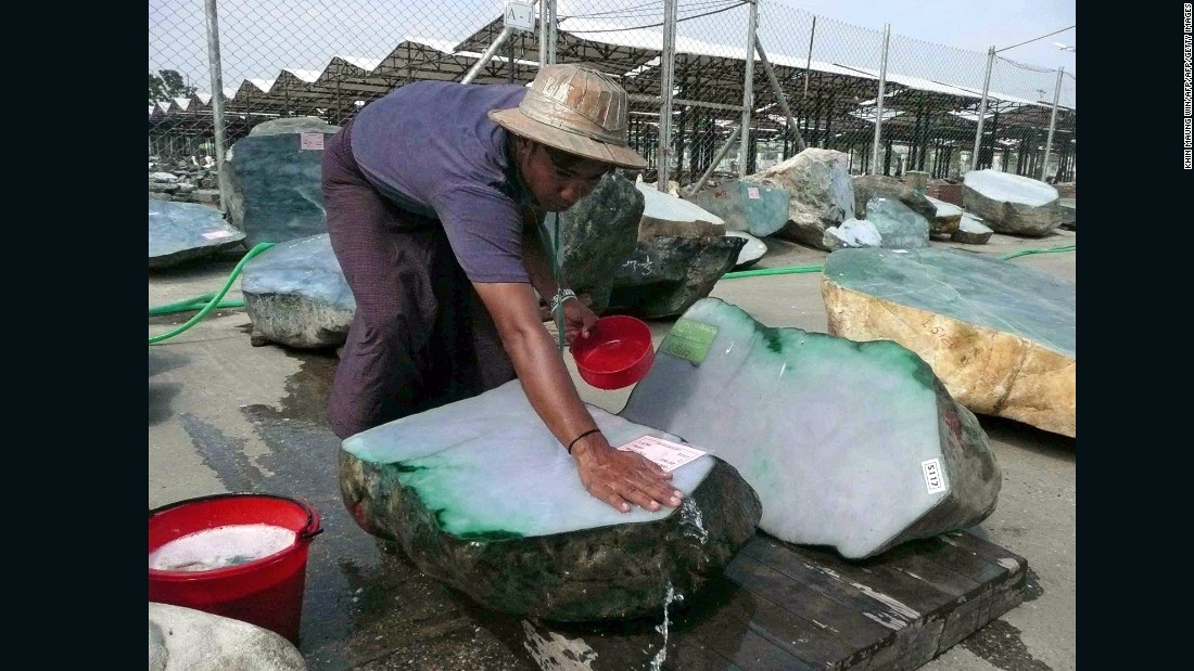 Myanmar supplies the vast majority of the world's jade, and all of the higher quality jadeite. However, most stone is mined in a remote and conflict-ridden corner of the country, and the industry lacks regulation. Although there are no formal figures on the supply of jade, major auctions houses say supply is dwindling.