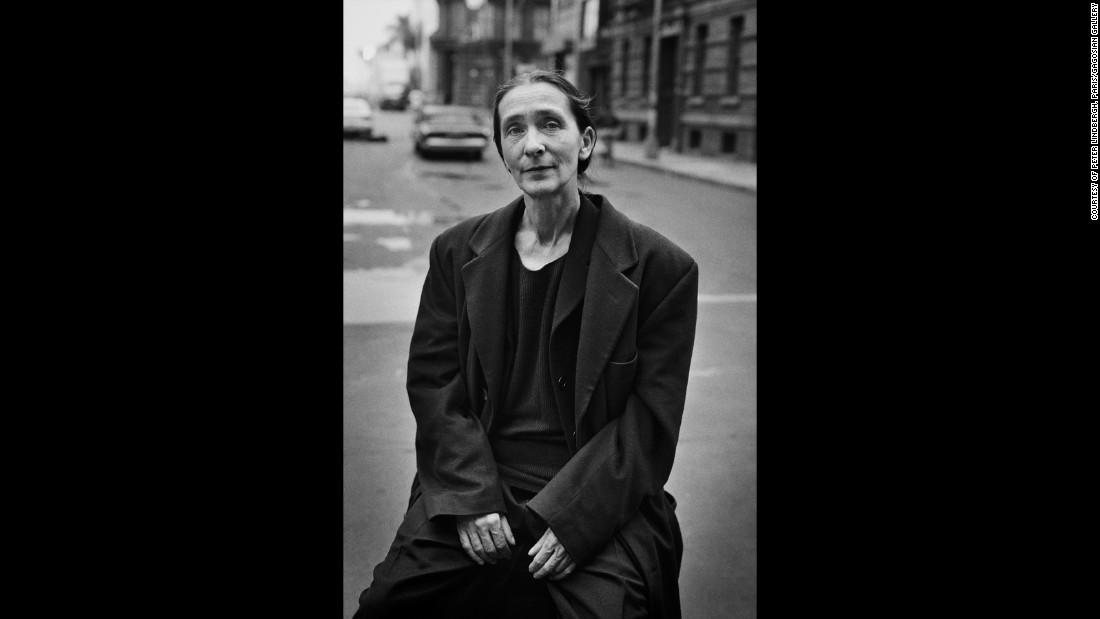 Pina Bausch in Giorgio Armani, Paramount Studios, Los Angeles, 1996