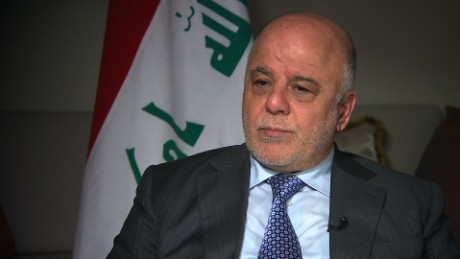 Iraqi PM: We're preparing for months-long fight in Mosul