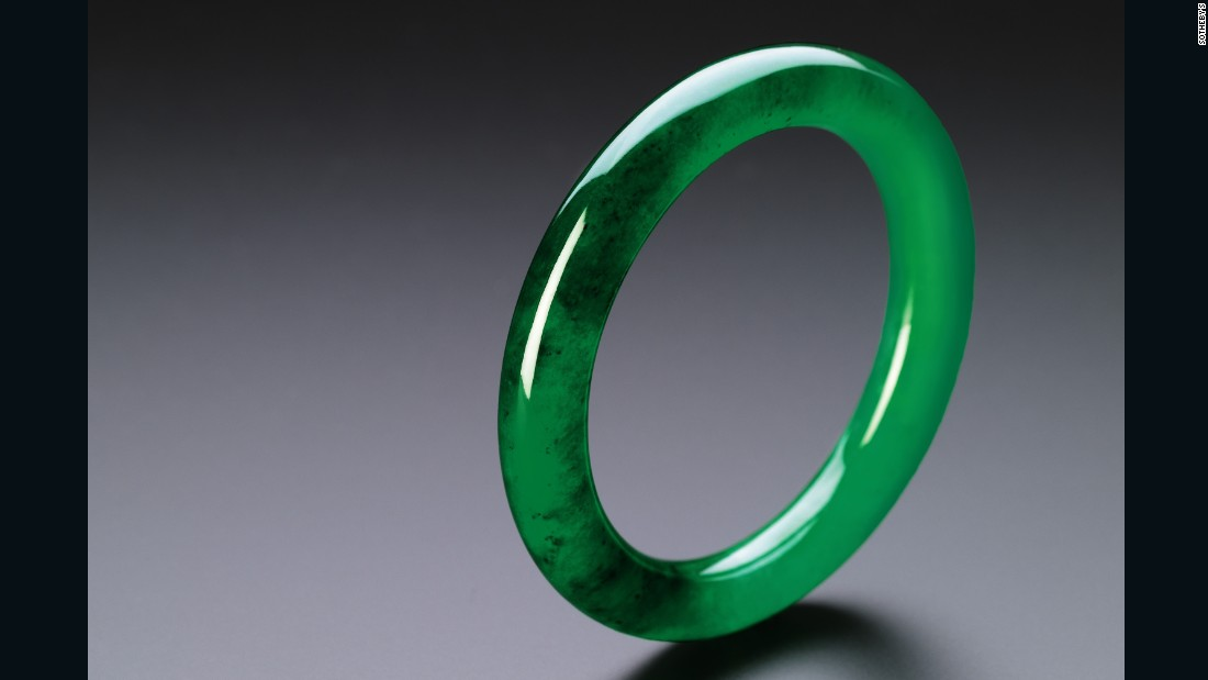 This simple, vivid emerald green jadeite bangle, for example, is expected to fetch between HK$50 to $70 million ($6.5 to $9 million) when it goes under the hammer at a Sotheby's auction in October 2016.