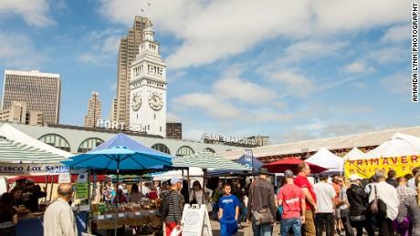 Culinary nerve center: San Francisco's Clock Tower Market.