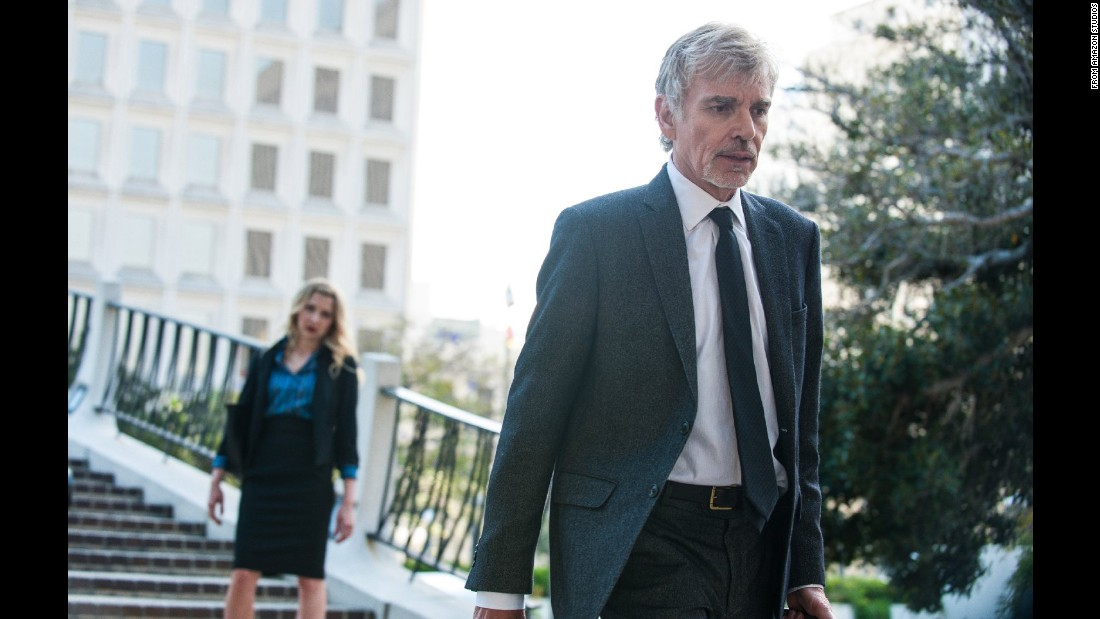 "<strong>Amazon</strong> is premiering an original series,<strong>""Goliath.""</strong> Billy Bob Thornton stars as a disgraced lawyer who may find redemption via a new case."