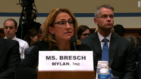 Mylan CEO grilled by Congress over EpiPen price hikes