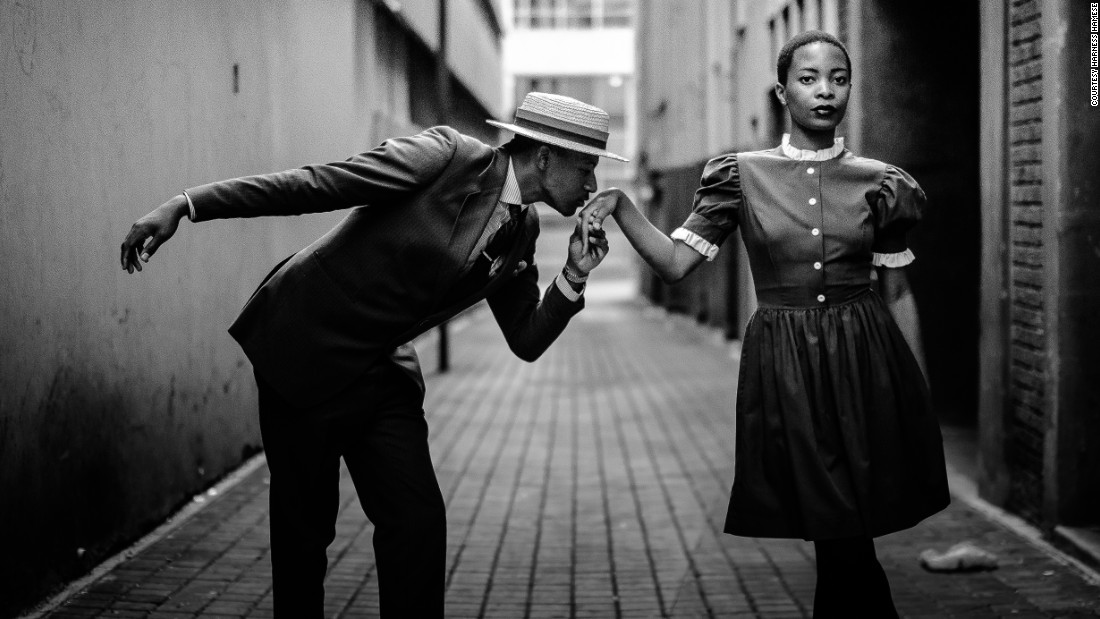 Amongst them is budding South African photographer Harness Hamese.