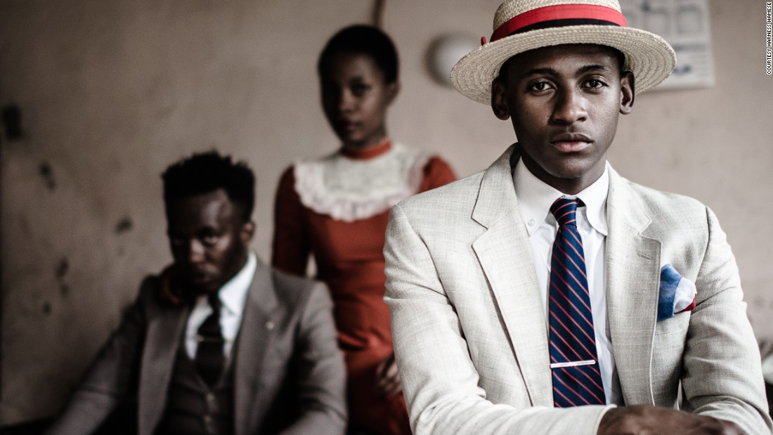 The nostalgic group, like to dress up in vintage, to represent a time in South African history where their parents dressed up as an expression of independence during apartheid.