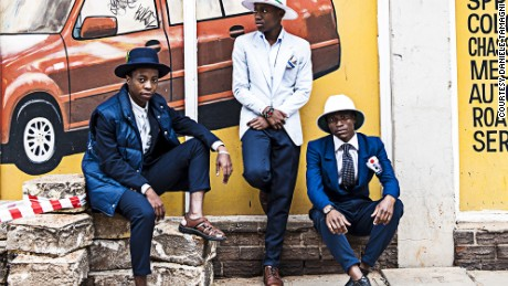 The Smarteez , Joburg style battles series, photographed by Daniele Tamagni.