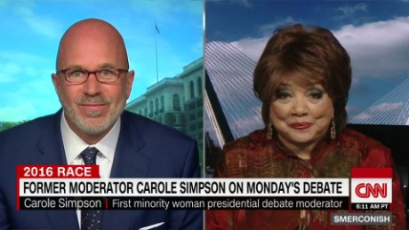Carole Simpson on First Debate_00013303