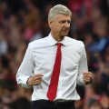 Arsene Wenger celebrates