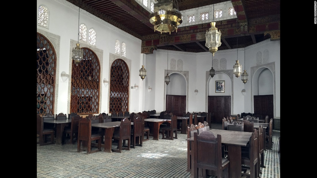 The al-Qarawiyyin Library has long been a source of fascination for Fez residents, few of whom ever passed through its doors. The architect and engineer charged with the restoration -- Aziza Chaouni -- helped to ensure the library is open to the public.