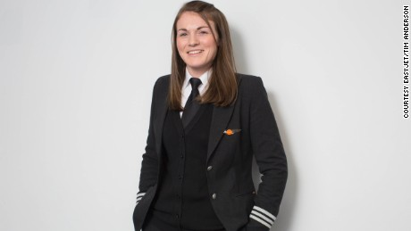 """I would strongly urge females interested in aviation to think about pursuing a career as a pilot, and any existing pilots to push themselves to become a captain,"" said McWilliams."