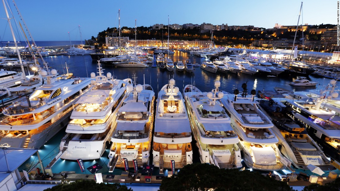 The 26th edition of the Monaco Yacht Show begins Wednesday on the picturesque Cote d'Azur. Here are some of the weird, wonderful and extravagant vessels that will be on display.