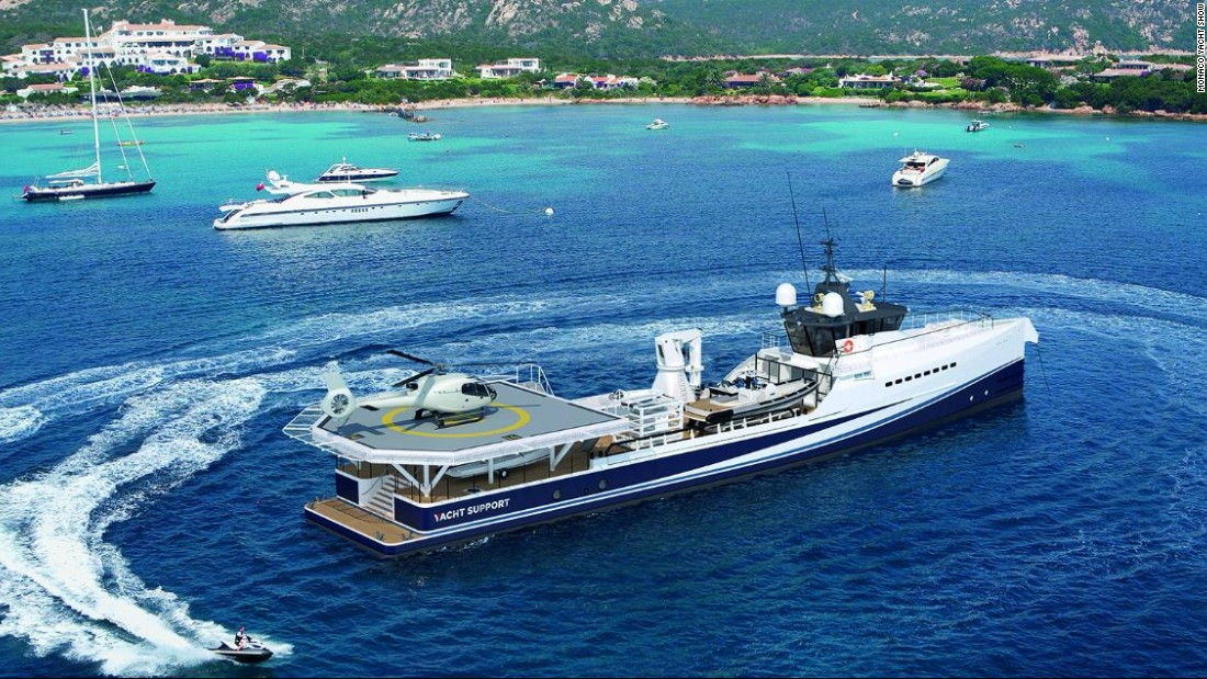 Finally, if money is no object then perhaps your head will be turned by Fast and Furious. Not only is it a luxury 55-meter superyacht, it comes with space to land a helicopter and store your toys, mini-submarines and diving equipment.
