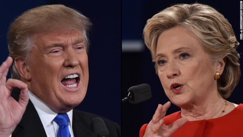 CNN polls: Clinton, Trump fight for battleground states