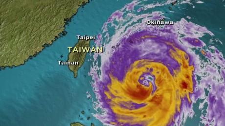 taiwan typhoon megi landfall sater lklv_00000411