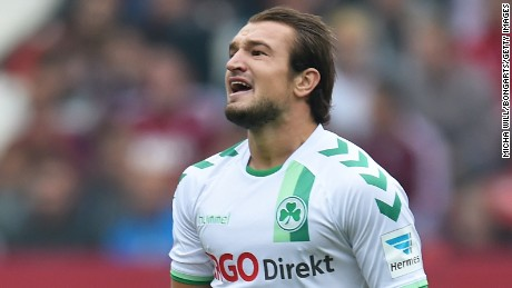 Veton Berisha plays in Germany with Greuther Furth.