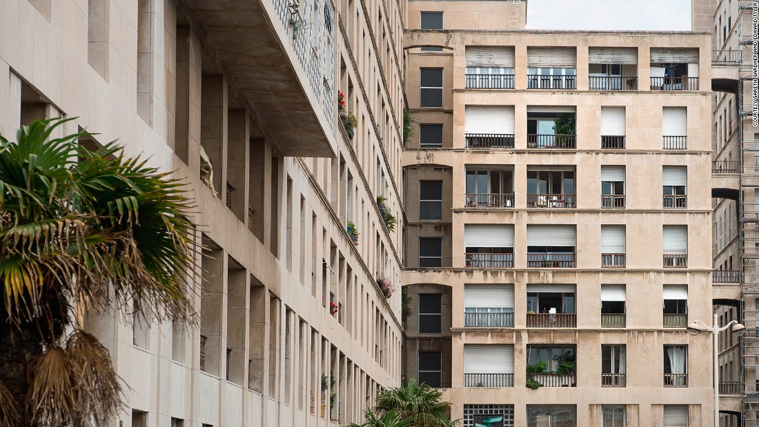 """(French architect Fernand Pouillon) made public housing with a bit of swagger, demonstrating the opposite of the mean-spirited and minimum-necessary approach so prevalent in this type of project."" -- <em>Adam Khan of Adam Khan Architects</em>"