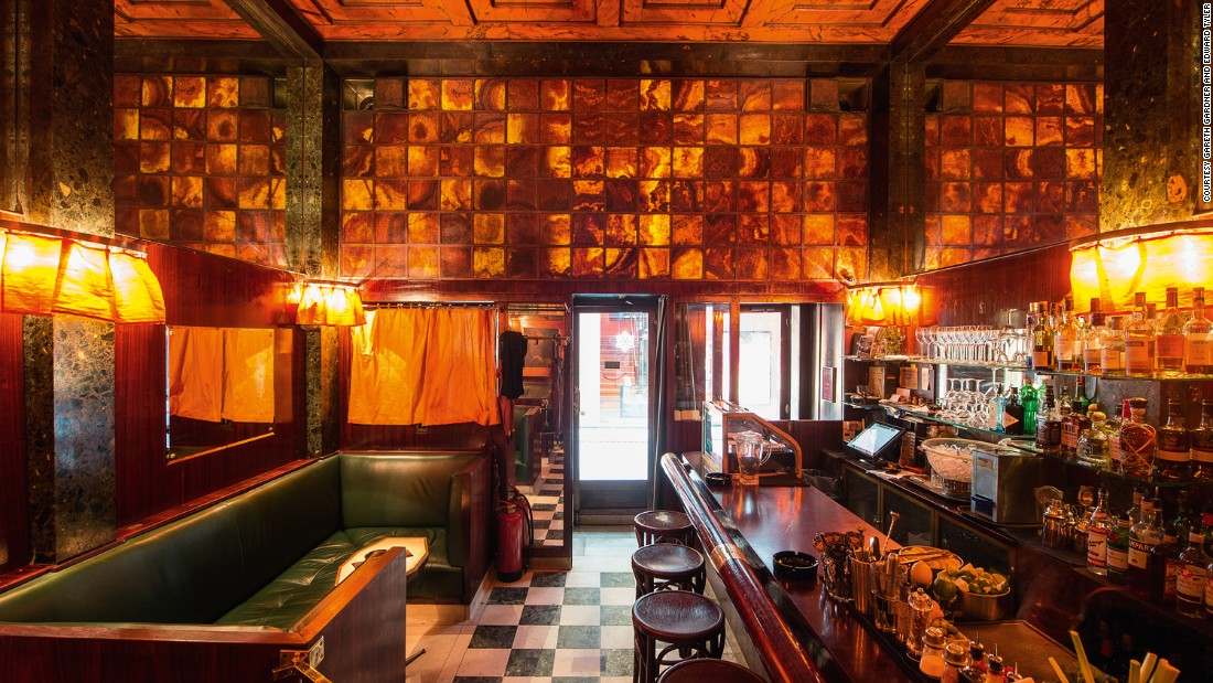 """One of the most resonant reasons for choosing this bar is its size. It's tiny. We live in a time when buildings are not considered important unless they're big. But this little bar has far more ideas packed into it than all those huge buildings put together."" <em>-- Sean Griffiths</em>"