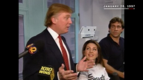 In 1997, Trump discussed Alicia Machado's weight