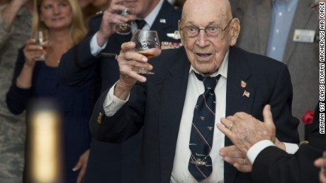 A final toast for the Doolittle raiders