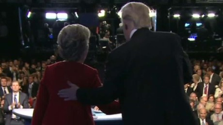 donald trump hillary clinton presidential debate body language marquez dnt_00012130