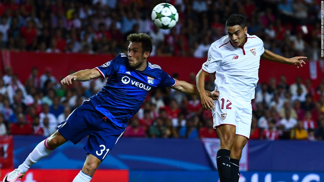 Wissam Ben Yedder scored the only goal of the game as Sevilla defeated Lyon 1-0 in Group H.