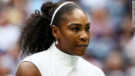 Serena Williams: 'I won't be silent' on police violence