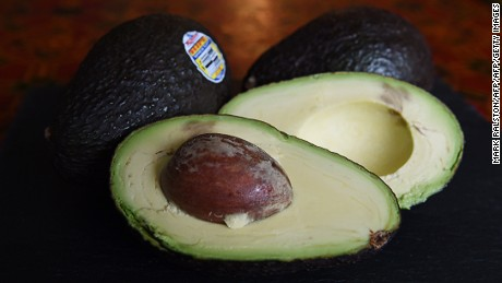 Hass avocados in Los Angeles, California on January 22, 2015.  The avocado has become the United States new favorite fruit with more than 4.25 billion sold last year. The Hass variety make up 95% of all avocados eaten in the United States and 85% of avocados are imported, mainly from Mexico.                AFP PHOTO/MARK RALSTON        (Photo credit should read MARK RALSTON/AFP/Getty Images)