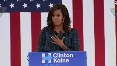 michelle obama clinton campaign anti-trump lines sot_00000823