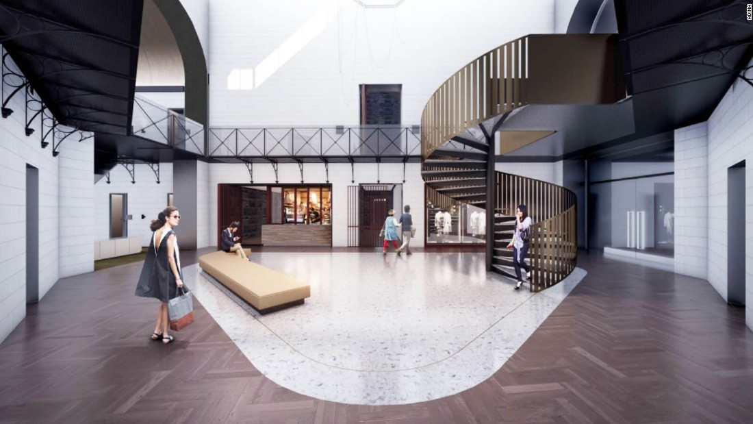 The Hotel, in the Victorian capital of Melbourne, will have 120 apartments and studios designed by Cox Architecture and will retain some of the original jail cells.