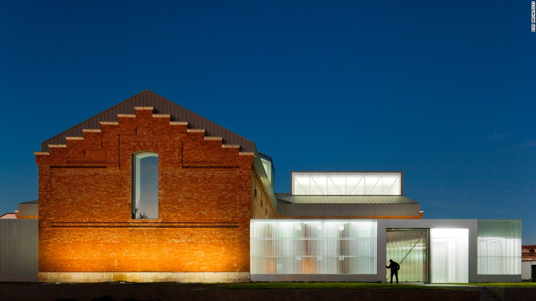 This former prison in Palencia, Spain was turned into a center for culture and the arts.