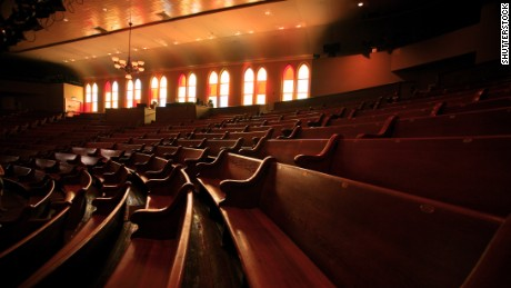 Seeing a show in the 1892 tabernacle-turned-Ryman Auditorium is a near-religious experience.