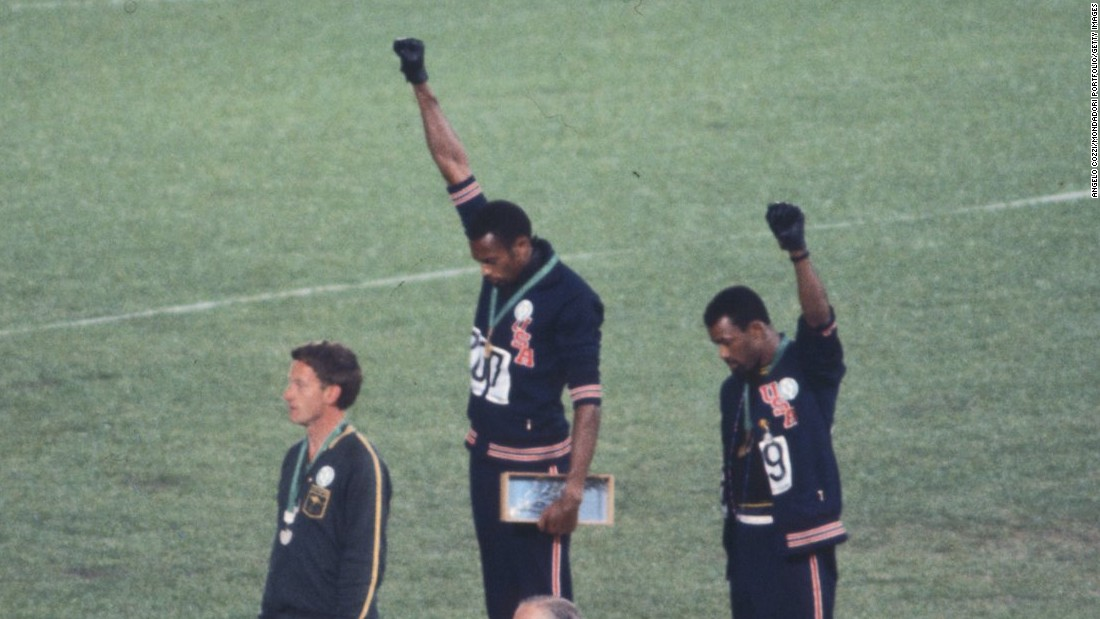 Tommie Smith and John Carlos join Team USA at White House ...