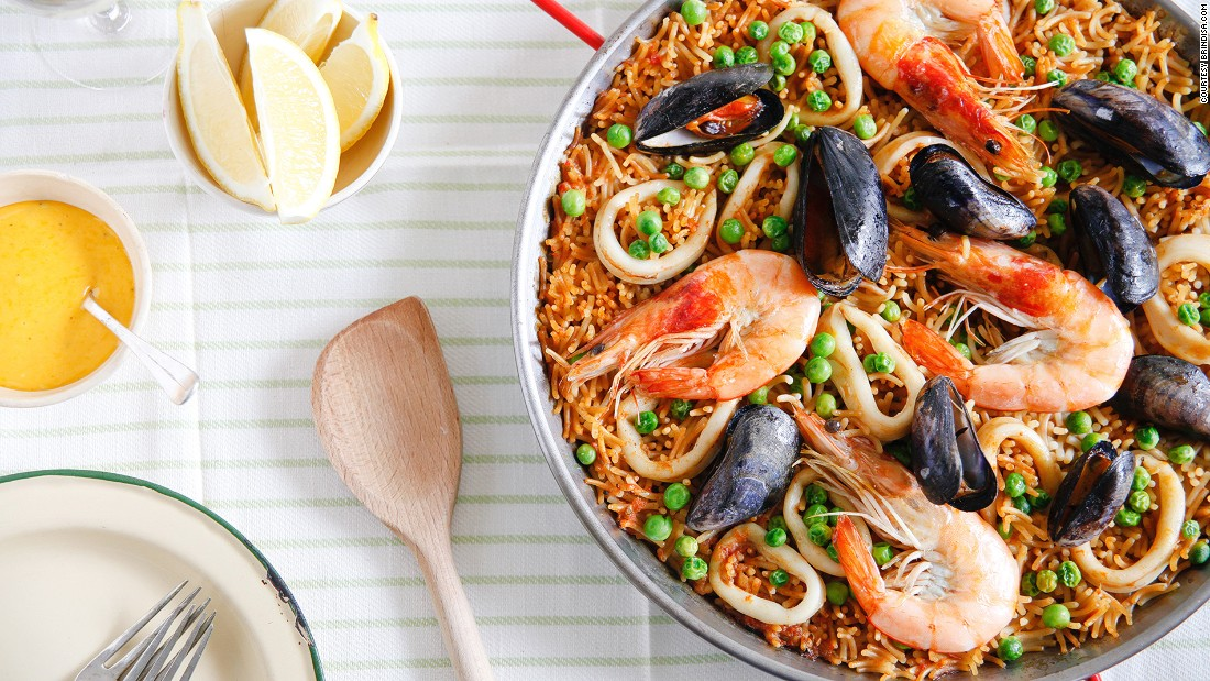 "Fideuà is a type of Spanish pasta similar to vermicelli. It's popular in Catalonia and Valencia in seafood dishes that rival paella for their taste and intricacy. (Image credit: <a href=""http://Brindisa.com"" target=""_blank"">Brindisa.com</a>)"