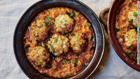 Meatballs: A must-have on the tapas table.