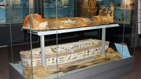 Tutankhamun tomb: Highclere was home to the man who found it.