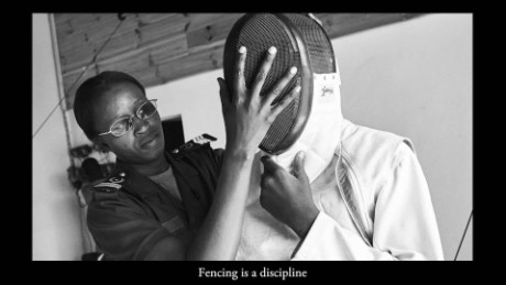 Senegal introduces Olympic fencing to jailed minors