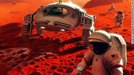 Humans in Mars 1