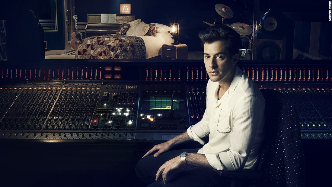 Airbnb has launched a competition for four lucky guests to stay overnight at London's legendary Abbey Road Studios. Their host on October 15 will be local boy and Grammy-winning record producer Mark Ronson.